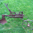 agricultural old plow — Stock Photo