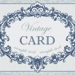 Vintage card — Stock Vector #5962321