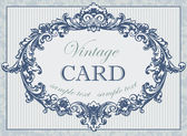 Vintage card — Vector de stock