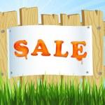 Sale announcement — Stock Vector