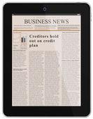 Digital News — Stock Vector