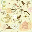 Royalty-Free Stock Vector Image: Birds pattern
