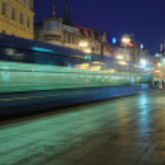 City night life in Zagreb — Stock Photo