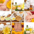Spa collage — Stockfoto #5636864