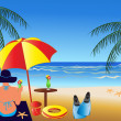 Royalty-Free Stock : VEctor Summer Scene