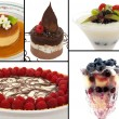 Gourmet Desserts — Stock Photo