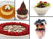 Gourmet Desserts — Stock Photo