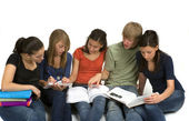 Study Group — Stock Photo