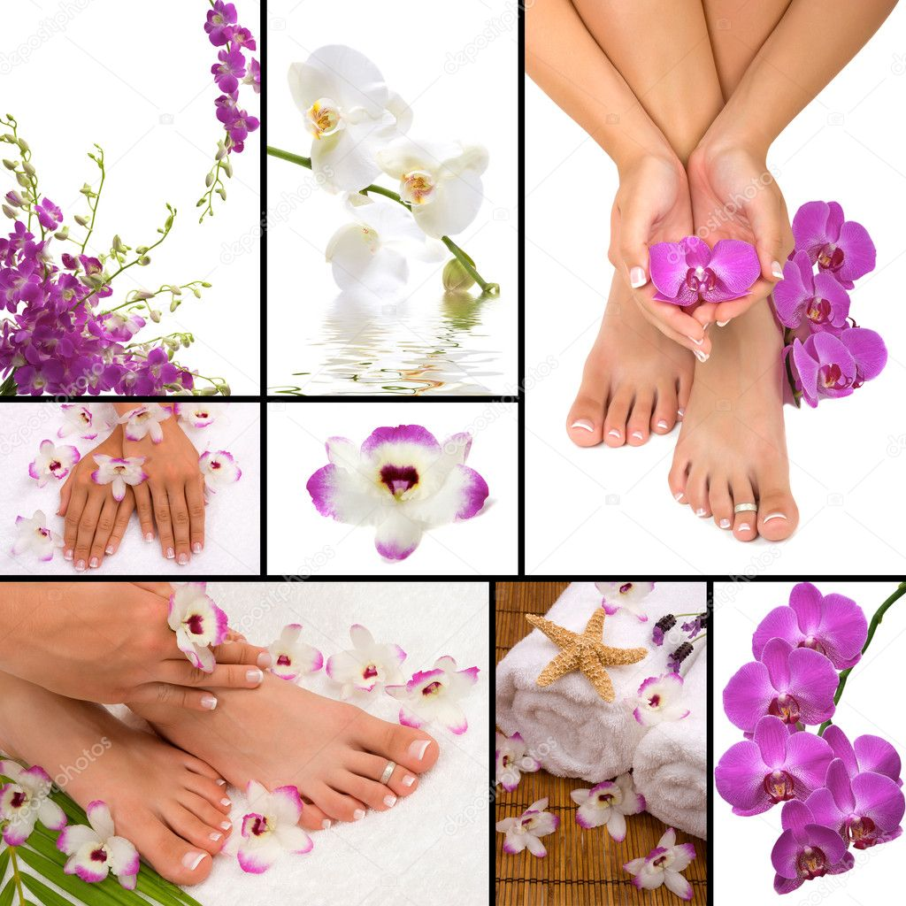 Spa collage — Stock Photo #6243936