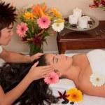 massaggi e cosmesi termale — Foto Stock