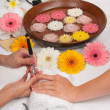 Manicure Spa — Stock Photo