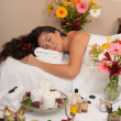 Stock Photo: Massage Skincare Spa