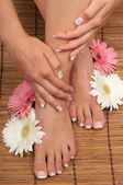 Pedicure and Manicure Spa — 图库照片