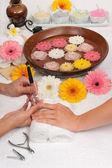 Manicure Spa — Stock Photo