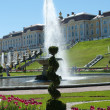 Grand Peterhof Palace and the Grand Cascade — ストック写真