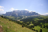 Sella mountain- Val Gardena — Stock Photo