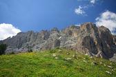 Sassolungo - Val Gardena — Stock Photo