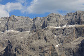 Sella mountain- Val Gardena — Stock Photo