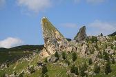 Pieralongia - alpe di cisles - val gardena — Foto Stock