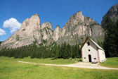 Vallunga - Val Gardena — Stock Photo