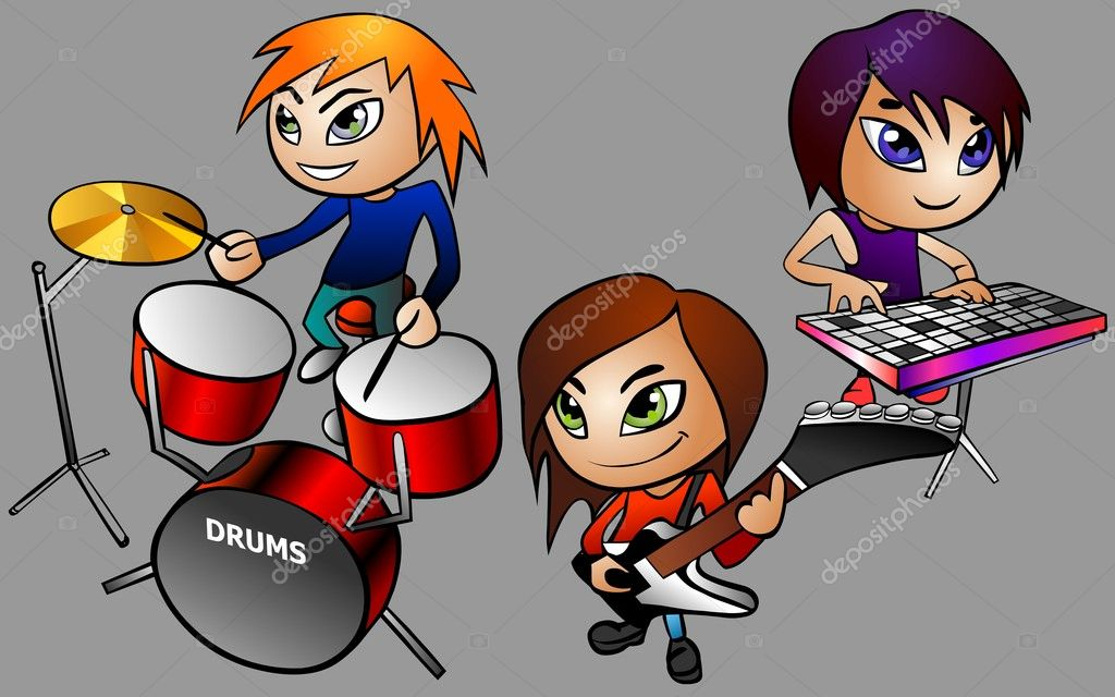 Band rock — foto stock regisser com