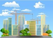 Construction of new housing. — Stock Photo