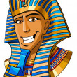 Egyptian pharaoh - Stock Photo