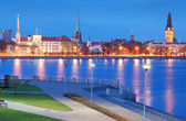 Panorama of Riga. — Stock Photo