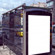 Stock Photo: Bus stop Istanbul 01