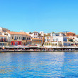 Chania panorama editorial — Stock Photo