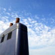 Ferry funnel 01 — Stock Photo