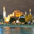 hagia sofia at night 01 — Stock Photo