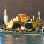 Hagia Sofia at night 01 — Stock Photo #5832115