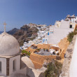 Stock Photo: Fira panorama