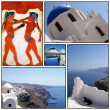 Santorini collage 02 — Stock Photo
