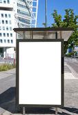 Bus stop at turning torso 03 — Stock Photo