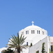 Fira Orthodox Metropolitan cathedral 02 — Stock Photo