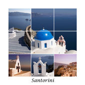 Santorini collage 01 — Stock Photo