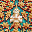 Stock Photo: HuHin Temple buddhdetail