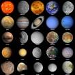 The solar system — Stock Photo
