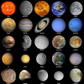 O sistema solar — Foto Stock