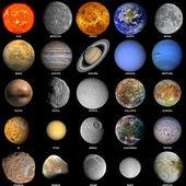 The solar system — Foto Stock