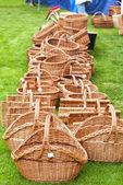 Wicker baskets 02 — Stock Photo