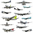 Stock Photo: Plane collection. High resolution