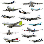 Plane collection. High resolution — Stock Photo