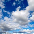 Stock Photo: Cumulus clouds