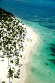 Paradise beach in caribbean — Foto Stock
