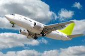 Proudové letadlo — Stock fotografie