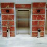 Elevator doors in modern hotel — Stock Photo #6361210