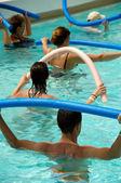 Water aerobic — Stock Photo